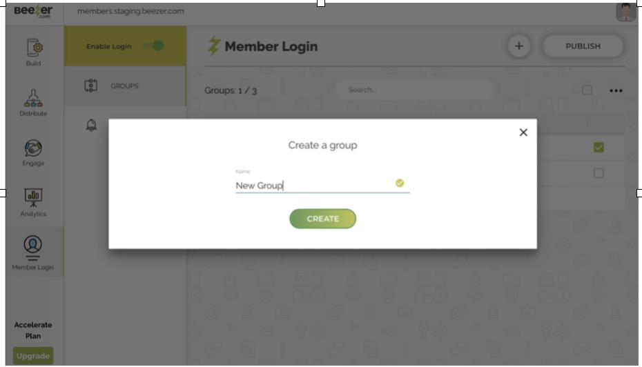 Member Login App Builder