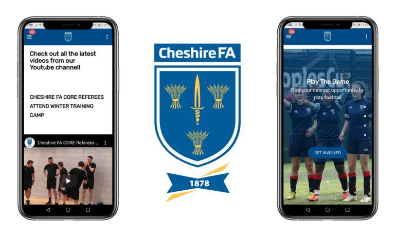 cheshire football association beezer