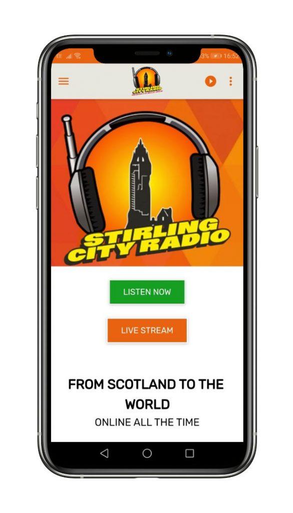 stirling city radio beezer